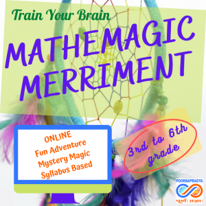 Mathemagic Merriment – fall in love with maths – fun mystery magic merriment