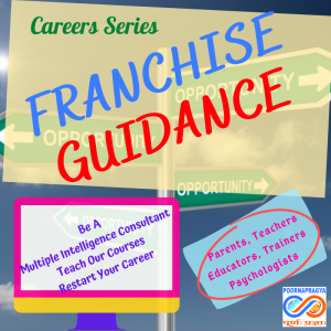 Franchise Guidance as a multiple intelligence consultant or as a trainer for our workshops