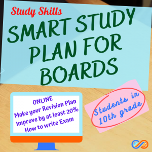 Smart Study Plan for 10th board exams – Improve your marks by 20%