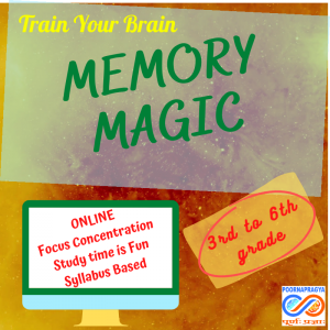 Memory Magic – never forget, fun, laughter, fall in love with studies