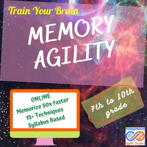 Memory Agility – never forget in exams, fall in love with studies